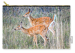 Fawns At Bigfork Carry-all Pouch