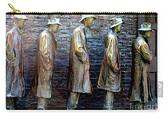 Fdr Memorial 4 Carry-all Pouch by Randall Weidner