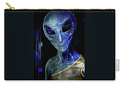 Carry-all Pouch featuring the painting Fear  Not . . .  by Hartmut Jager