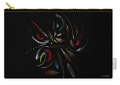 Feather Arrangement Carry-all Pouch