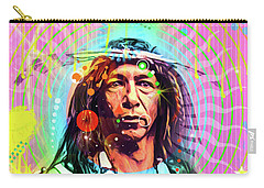 Feather Chief Carry-all Pouch by Gary Grayson