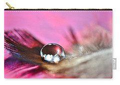 Feather Drop Carry-all Pouch by Diane Alexander