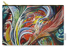 Feather Fury Carry-all Pouch