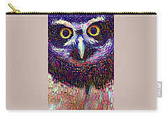 Feather Jeweled Carry-all Pouch