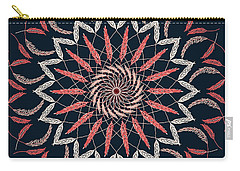 Feather Mandala 1 Carry-all Pouch
