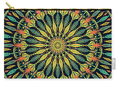Feather Mandala II Carry-all Pouch