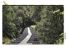 Feather River Flumes Carry-all Pouch by Sara Raber