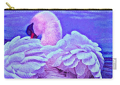 Feathers Of Royalty Carry-all Pouch