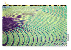Feathery Ripples Carry-all Pouch