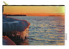 Feburary Sunset Cape Vincent Carry-all Pouch