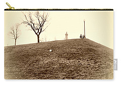 Carry-all Pouch featuring the photograph Federal Hill by Brian Wallace