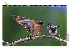 Carry-all Pouch featuring the photograph Feed Me by William Lee