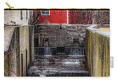 Carry-all Pouch featuring the photograph Feeder Canal Lock 13 by Kendall McKernon