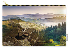 Feeding The Waterfall Montage Carry-all Pouch