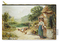 Feeding Time Carry-all Pouch by Ernest Walbourn