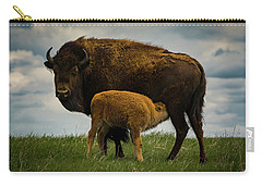 Carry-all Pouch featuring the photograph Feeding Time II by Gary Lengyel