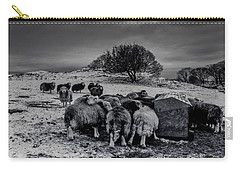 Carry-all Pouch featuring the photograph Feeding Time by Keith Elliott
