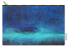 Feeling Blue Carry-all Pouch by Nicole Nadeau