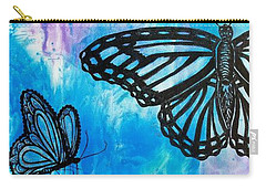 Feeling Free Carry-all Pouch by Susan DeLain