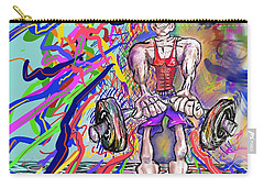 Feeling Pumped Up Carry-all Pouch