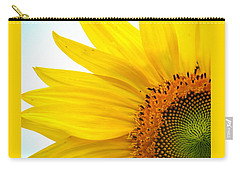 Feeling Sunny Carry-all Pouch by Angela Davies