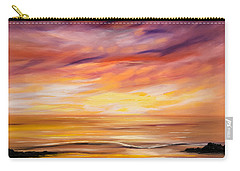 Feeling The Divinity - Sunset Painting Carry-all Pouch