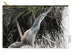 Feeling Threatened Carry-all Pouch by I'ina Van Lawick