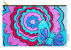Felicity's Flower Carry-all Pouch