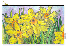 Carry-all Pouch featuring the painting Fellowship  by Glenn McCarthy Art and Photography