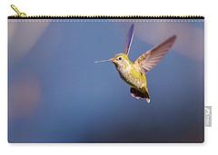 Female Annas Hummingbird Carry-all Pouch