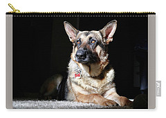 Female German Shepherd Carry-all Pouch