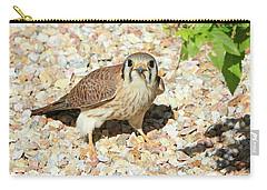 Female Kestrel Falcon Carry-all Pouch