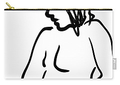 Female Nude Carry-all Pouch