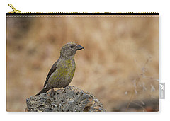 Female Red Crossbill Carry-all Pouch by Doug Lloyd