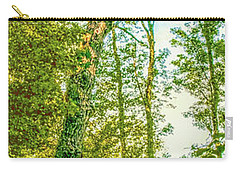 Carry-all Pouch featuring the photograph Female Tree.  by Leif Sohlman