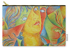 Femme Aux Trois Visages Carry-all Pouch