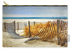 Fence Along The Dunes Carry-all Pouch