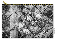 Fence And Flowers. Carry-all Pouch