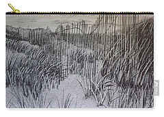 Fence In The Dunes Carry-all Pouch