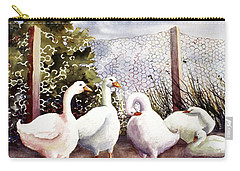Fenced In Quackers Carry-all Pouch