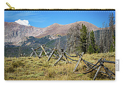 Fences Into The Rockies Carry-all Pouch
