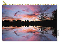 Fencing Reflections Carry-all Pouch
