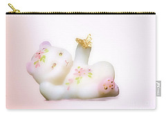 Fenton Art Glass Bear Carry-all Pouch