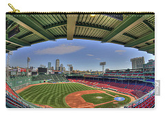 Fenway Park Interior  Carry-all Pouch by Joann Vitali