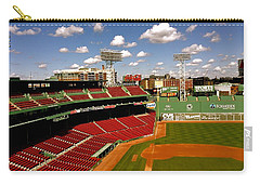 Carry-all Pouch featuring the photograph Fenway Park Iv  Fenway Park  by Iconic Images Art Gallery David Pucciarelli