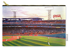 Fenway Park Carry-all Pouch by Rose Wang