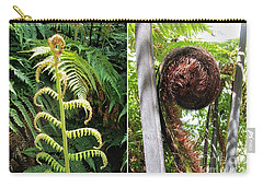 Fern And Koru Carry-all Pouch