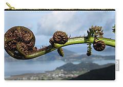 Fern Fiddlehead Carry-all Pouch