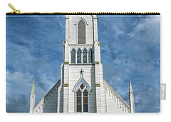 Carry-all Pouch featuring the photograph Ferndale Catholic Church by Greg Nyquist