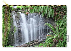 Ferns And Waterfalls Carry-all Pouch